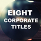 8 Corporate Titles - VideoHive Item for Sale