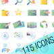 LIMELIGHT 115____ icons - GraphicRiver Item for Sale