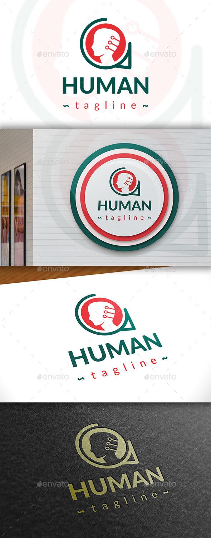 GraphicRiver Human Logo 11390995
