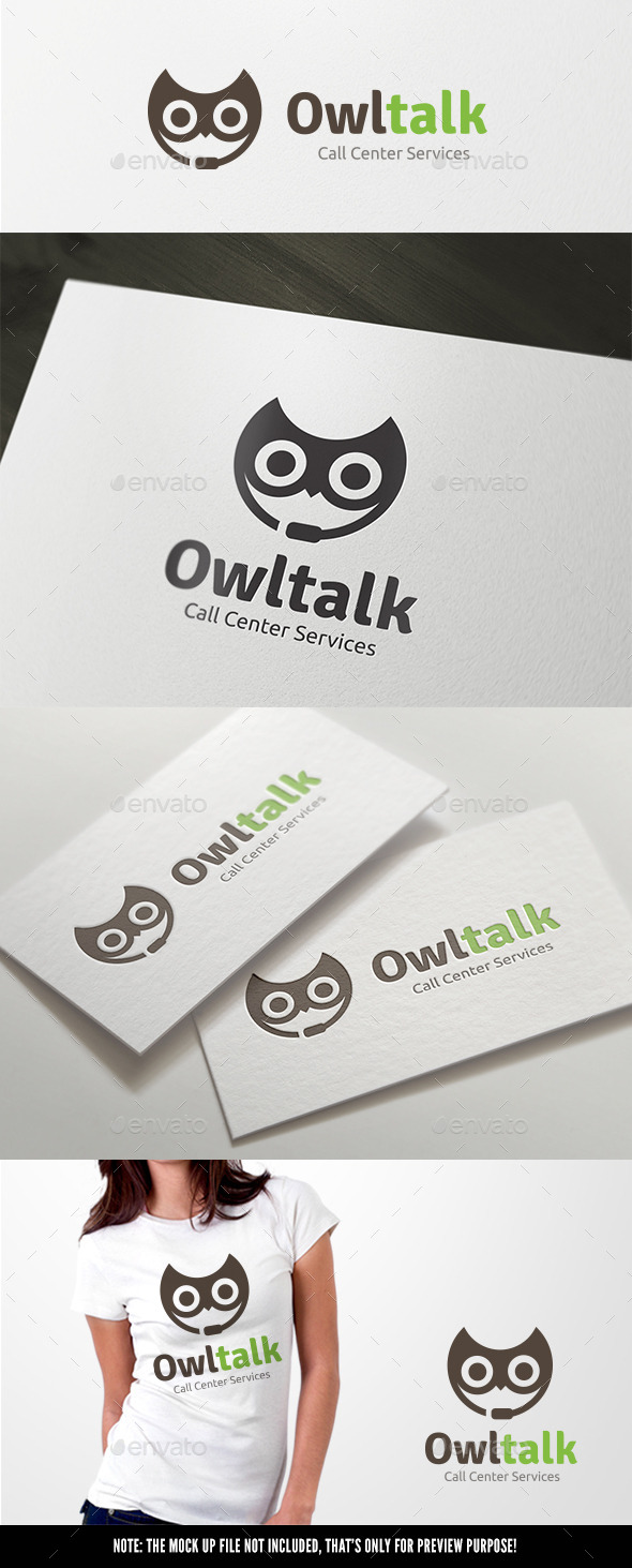 GraphicRiver Owl Talk 11390997