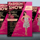 Flyer Fashion Show - GraphicRiver Item for Sale