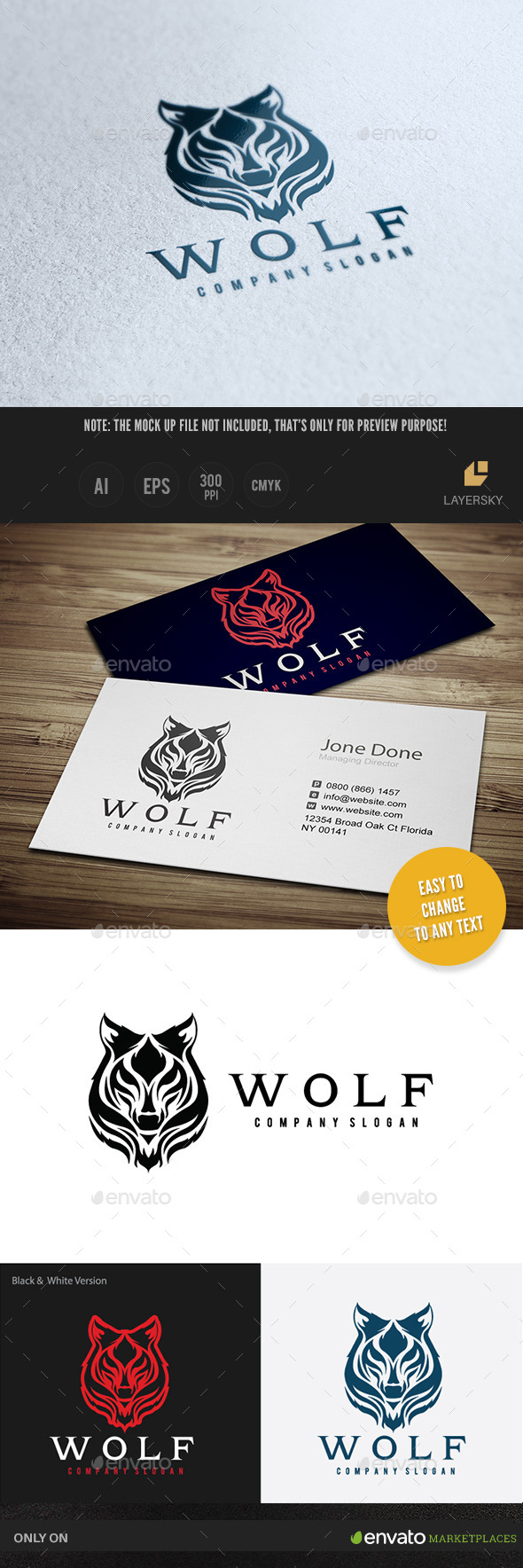 GraphicRiver Wolf II 11391351