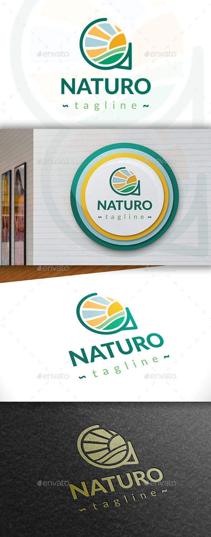 GraphicRiver Natura Logo 11391354