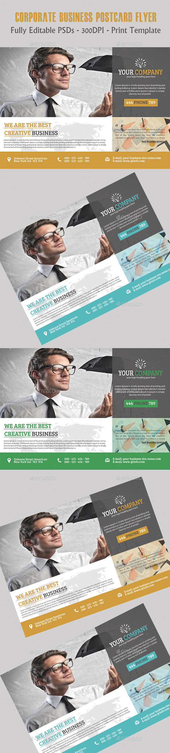 GraphicRiver Corporate Business Flyer 11391441