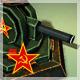 Red alert soviet style turret with anim v001 - 3DOcean Item for Sale