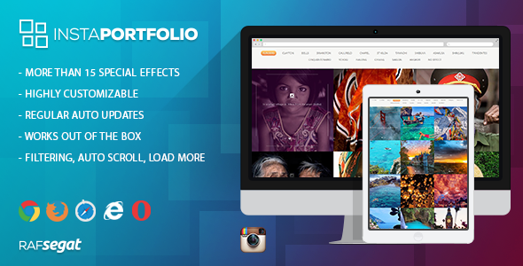 CodeCanyon Instagram Portfolio 11353958
