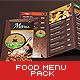 Food Menu Pack - GraphicRiver Item for Sale