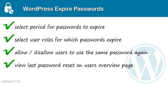 CodeCanyon WordPress Expire Passwords 11392369