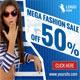 Mega Fashion Sale Web Banners - GraphicRiver Item for Sale