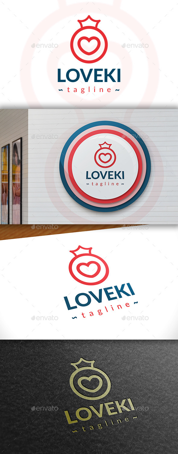 GraphicRiver Love King Logo 11392452