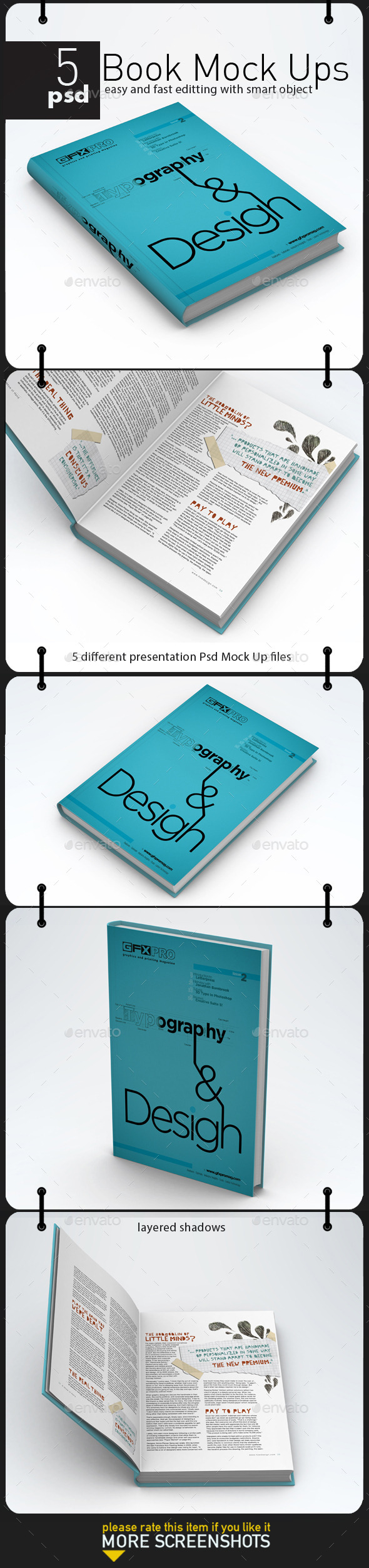 GraphicRiver Book Mock Up 11392514