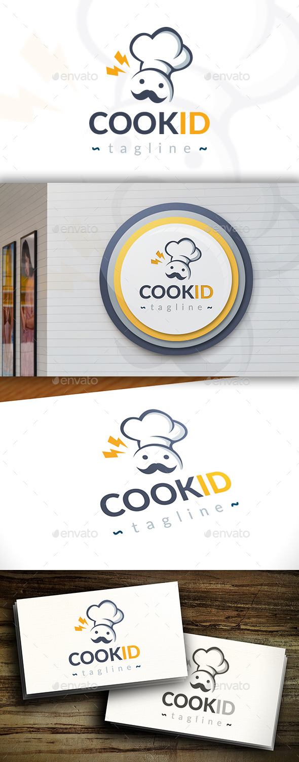 GraphicRiver Cook Idea Logo 11392630
