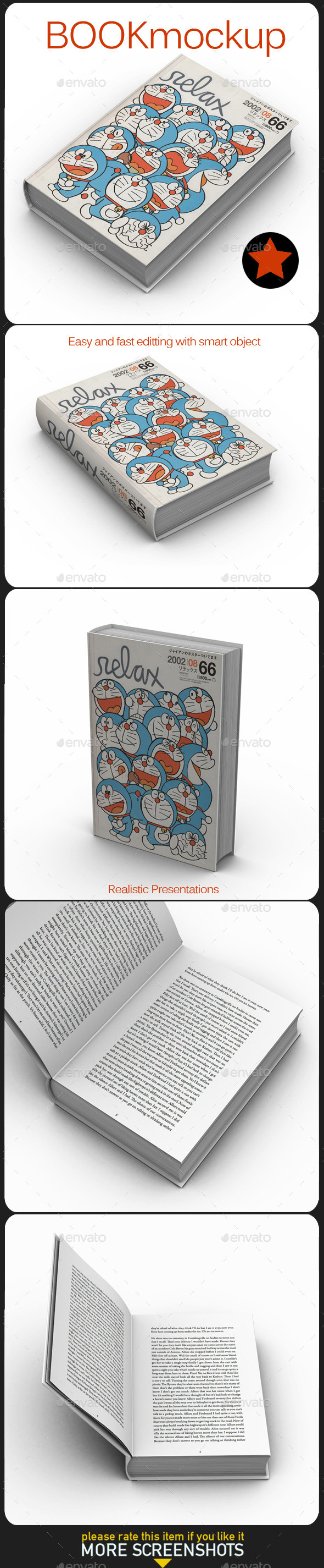 GraphicRiver Book Mock Up 11392720