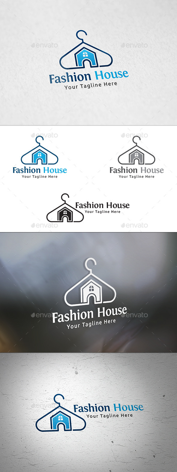 GraphicRiver Fashion House Logo Template 11392771