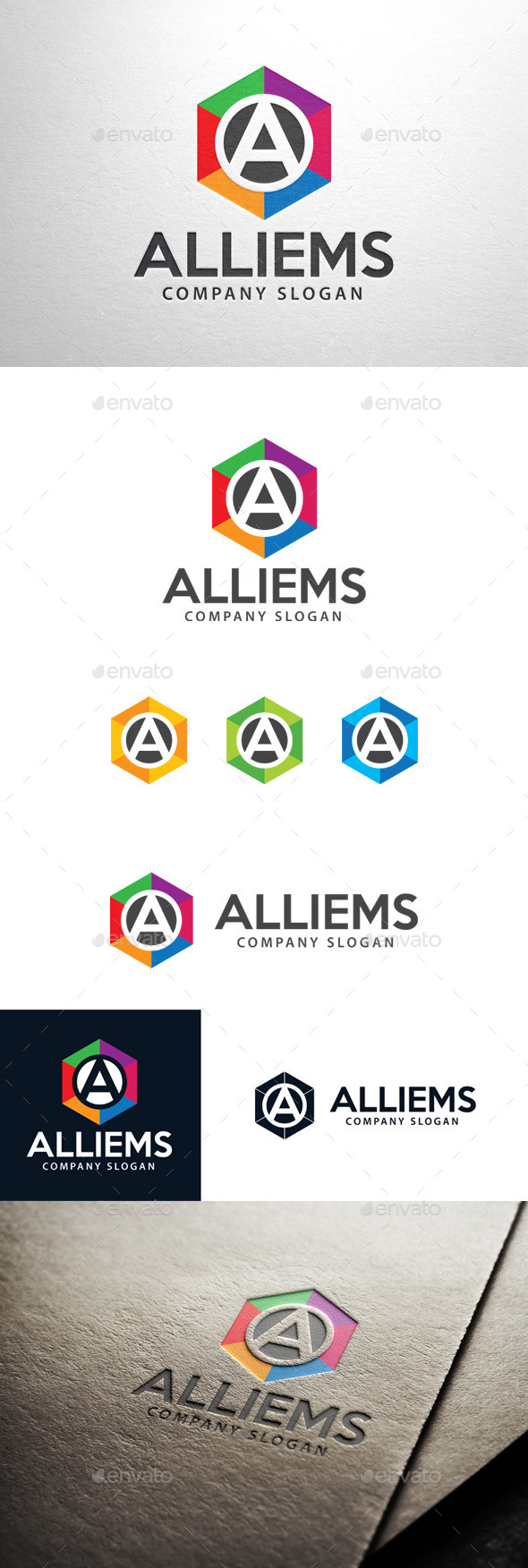 GraphicRiver Alliems Letter A Logo 11392864