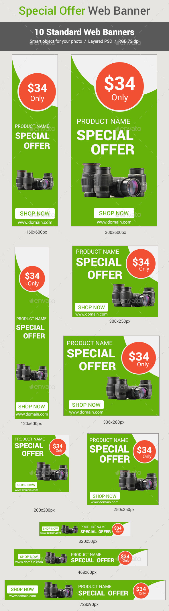 GraphicRiver special offer web banner 11392942