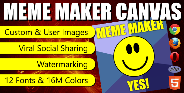 Meme Maker Canvas - CodeCanyon Item for Sale