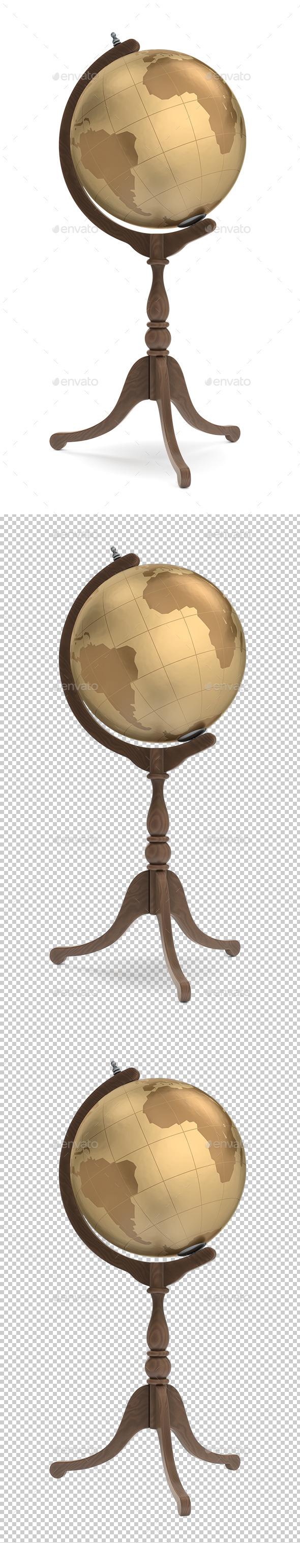 GraphicRiver Medieval Globe 11393165