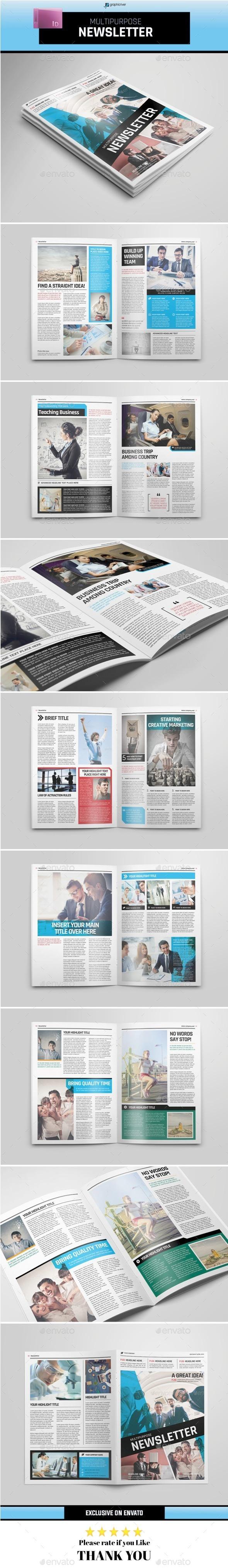 GraphicRiver Multipurpose Newsletter 11393385