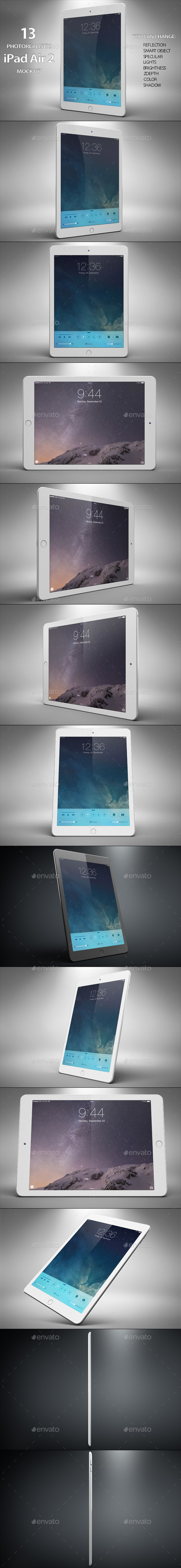 GraphicRiver iTable Air 2 Mock Up 11393432