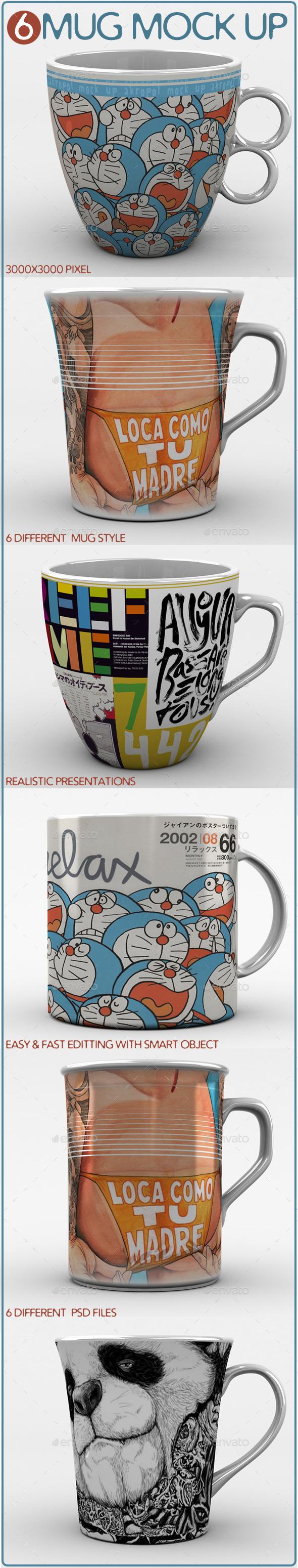 GraphicRiver Mug Mock Ups 11393439