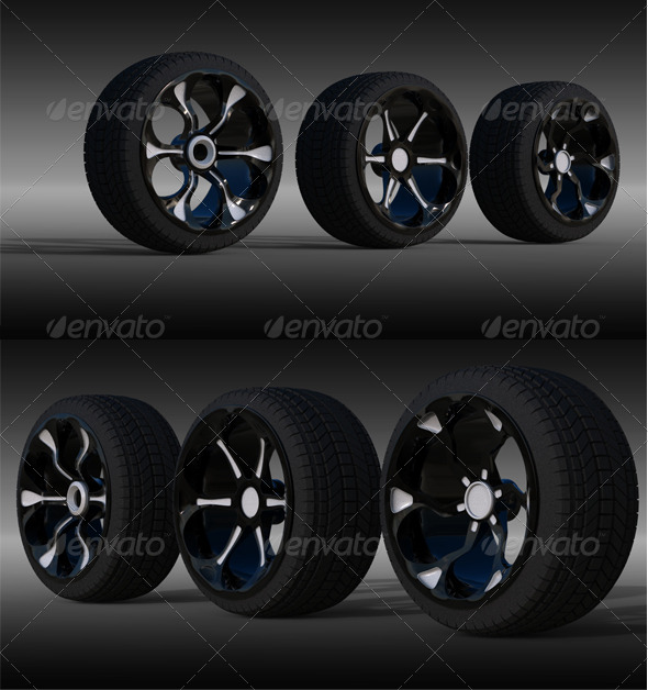 3DOcean 3 Wheel 140627
