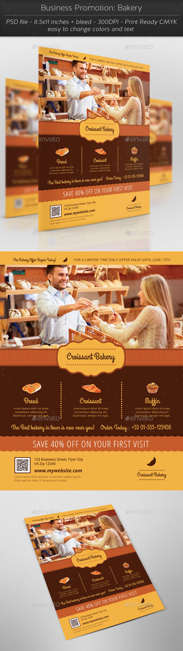 GraphicRiver Business Promotion Bakery 11393564