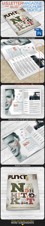 GraphicRiver Magazine Mock Up 11393569