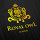Royal Owl Logo - GraphicRiver Item for Sale