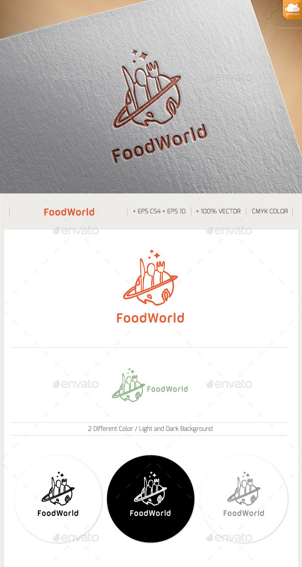 GraphicRiver Food World 11394020