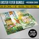 Easter Flyer Bundle - GraphicRiver Item for Sale