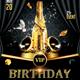 VIP Birthday Flyer