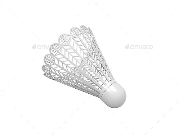 GraphicRiver Isolated Plastic Shuttlecock 11394113