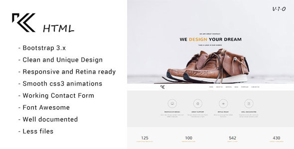 ThemeForest Klass Photography & Portfolio HTML Template 11355861