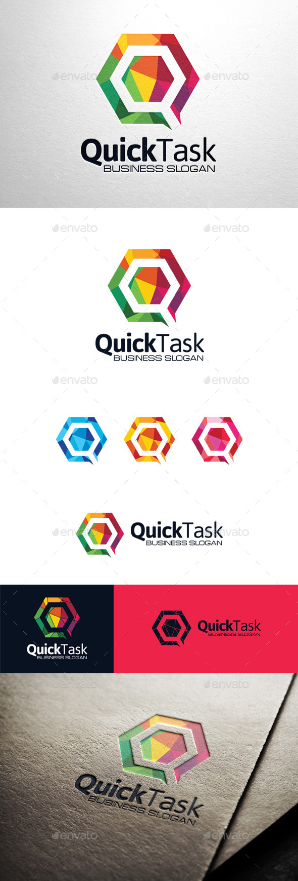 GraphicRiver Quick Task Letter Q Logo 11394649