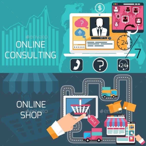 GraphicRiver Online Shopping And Consulting Service 11394778