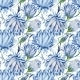 Indigo Floral Pattern - GraphicRiver Item for Sale