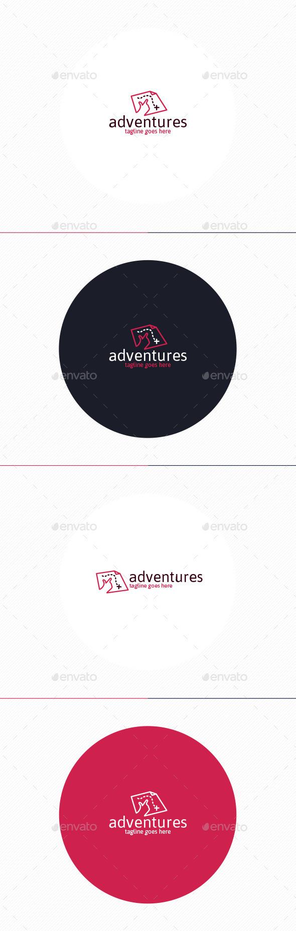 GraphicRiver Adventures Logo 11394960