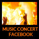 Musical Concert Facebook Cover - GraphicRiver Item for Sale