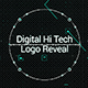 Digital Hi Tech Logo Reveal - VideoHive Item for Sale