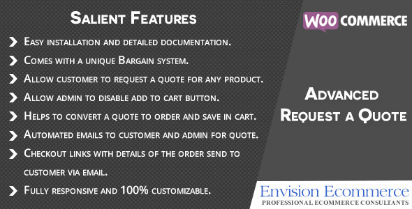 CodeCanyon Woocommerce Advanced Request a Quote 11395336
