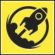 Rocket Boost Logo Template v2 - GraphicRiver Item for Sale