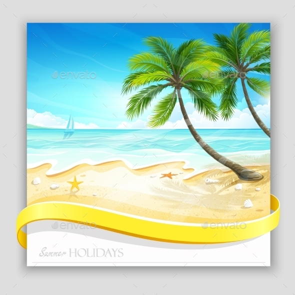 GraphicRiver Tropical Island 11395393
