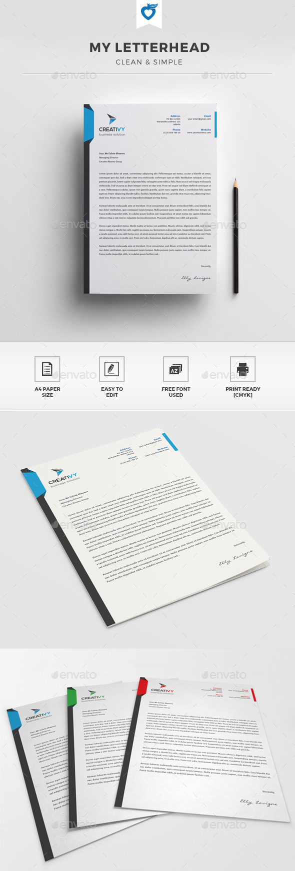 GraphicRiver My Letterhead 11395398