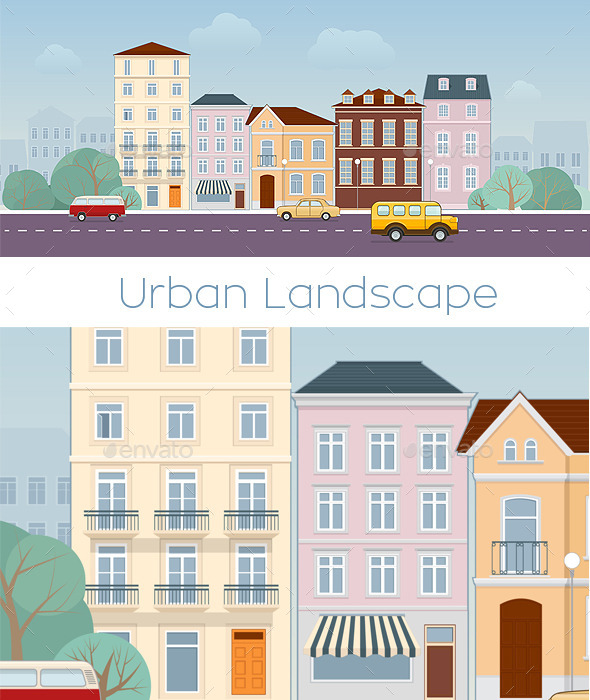GraphicRiver Urban Landscape 11395519