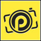 Pro Camera - Letter P logo - GraphicRiver Item for Sale