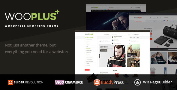 WooPlus - WordPress Shopping Theme for WooCommerce - WooCommerce eCommerce