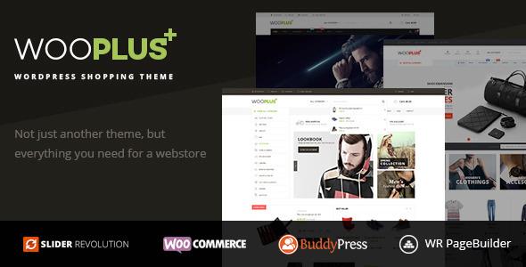WooPlus - WordPress Shopping Theme for WooCommerce