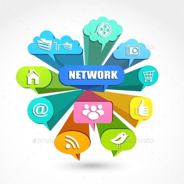 GraphicRiver Social Network 11395960