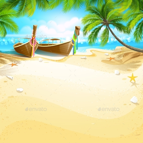 GraphicRiver Paradise Island 11396034